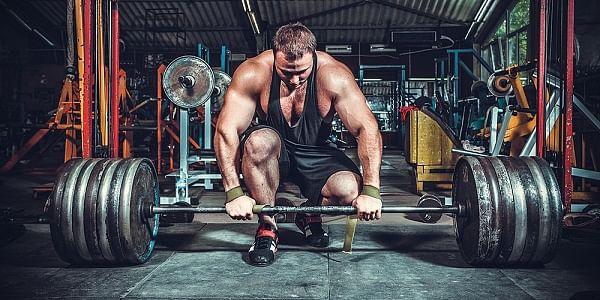 Muskeltillväxt Kvinna